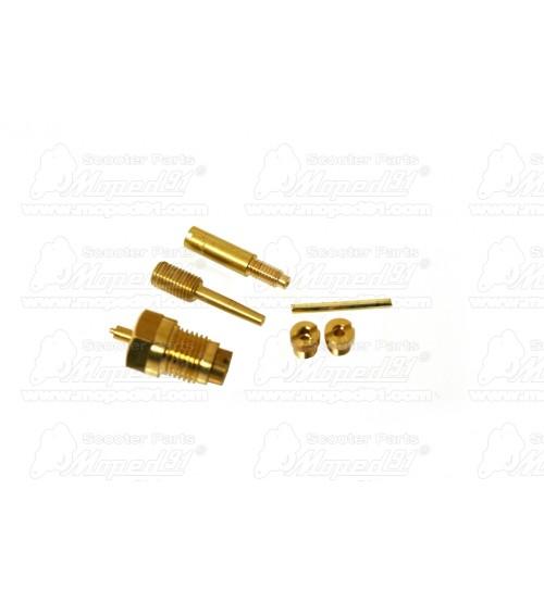 karburátor javító készlet SIMSON S 51 / SCHWALBE KR 51 16N1-5 (Z073-000) Német Minőség EAST ZONE