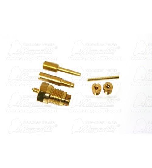 karburátor javító készlet SIMSON S 51 / SCHWALBE KR 51 16N1-12 (Z073-000) Német Minőség EAST ZONE