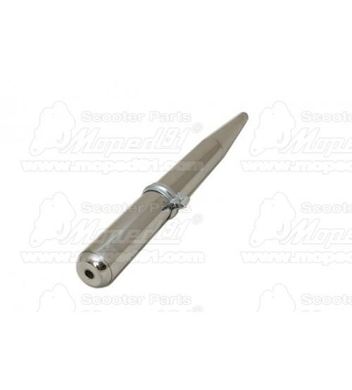 kipufogó dob SIMSON S50/ S51/ S70/ ROLLER SR80/ SCHWALBE KR51 belső kúppal (218071)